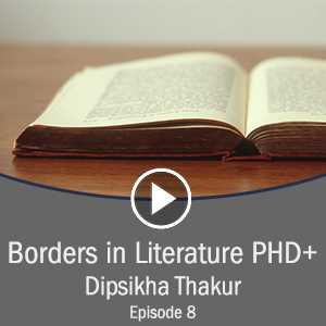 Cover for Borders in Literature