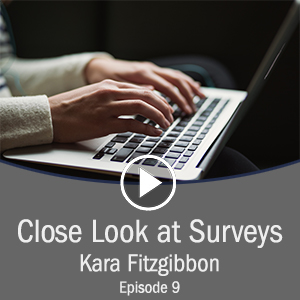 Cover for close look at surveys