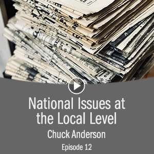 Cover photo for National Issues at the Local Level