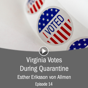 Cover for Virginia Votes During Quarantine