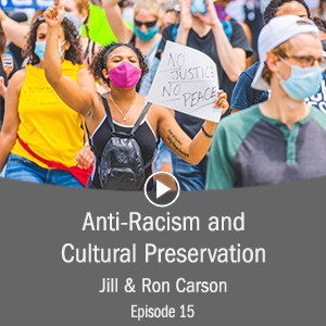 cover photo for anti racism and cultural preservation