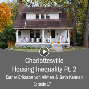Cover Photo for Charlottesville Housing Inequality pt 2